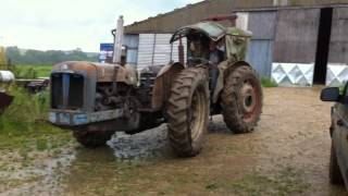 Doe tractor unleashed from barn after 30 years!