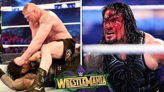 10 Cosas Que No Sabias De Brock Lesnar vs Roman Reigns Wrestlemania 34