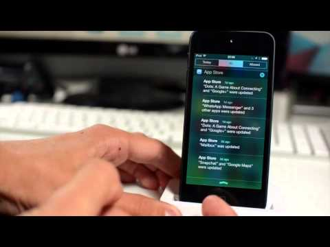 iOS 7 (Final Version) Hands-On Walkthrough