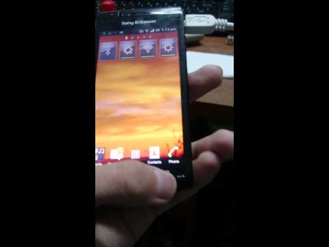 Xperia Arc LT15i Running Android 4.0