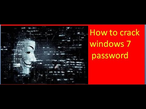 how to hack windows 7 password without any software