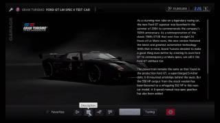 Gran Turismo 5 - Ford GT LM Spec II Test Car