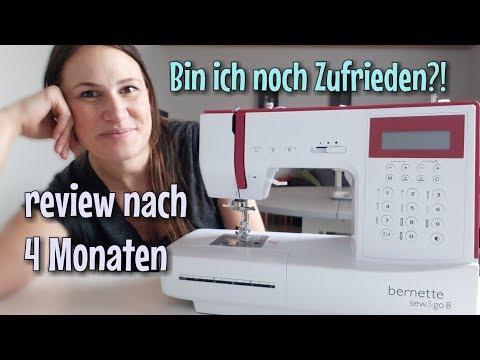 Bernette Sew & Go 8 - Review - Noch Zufrieden? - Nähtinchen