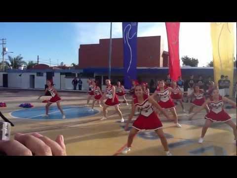 Jornada Deportiva Secundaria 2012 Porristas