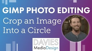 How to Make an Image Into a Circle in GIMP 2.8