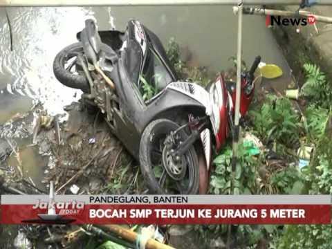 Bermain HP saat bawa motor, bocah SMP jatuh ke jurang di Pandeglang - Jakarta Today 18/02