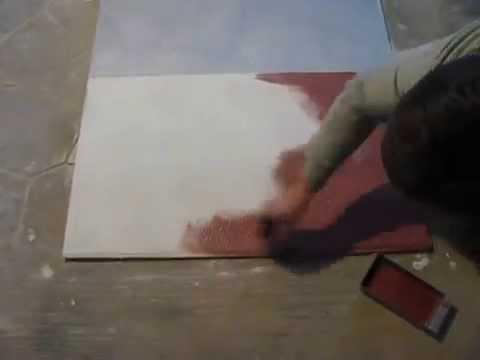 Отделка кожей - декоративная штукатурка Графито