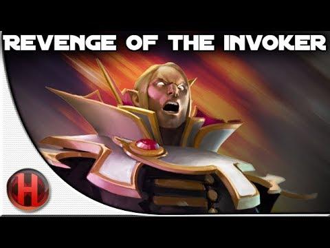 Dota 2 Revenge of the Invoker