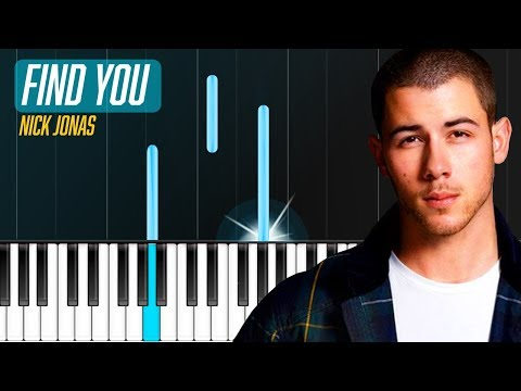 """""""Find You"""" Piano Tutorial - Chords - How To Play - Cover"""