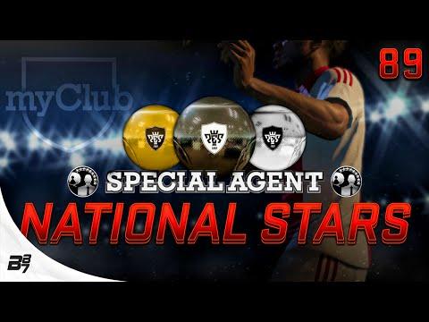 Pes 2015 Myclub   National Stars Agent Opening! #89 video