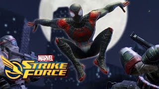 Marvel Strike Force Part 14 - Into The Spider-Verse Update with Spider-Man Miles Morales