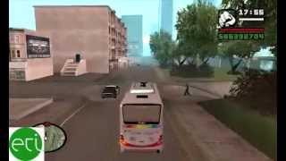 Model=New 5DX Sinar Jaya Buses GTA SAN ANDREAS GAME Parts 2
