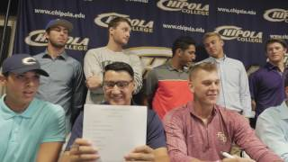Chipola College Sport Signing