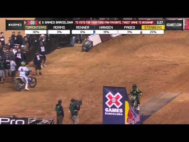 Who has the best whip? Edgar Torronteras wins GOLD