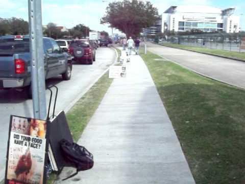 ANIMAL RIGHTS - PROTESTS - Rodeo, KFC, Fur, Circus, Demo (PETA + slacktavists no help-alone)