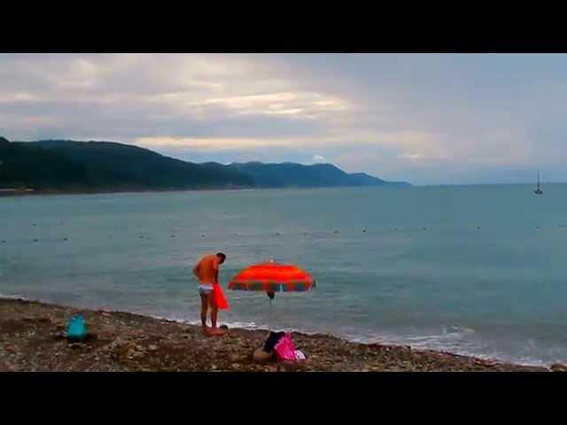 Горячее море +25°C. Погода в Лазаревском 6 июля t воздуха +22°C