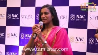 P. V. Sindhu Inaugurates NAC Jewellers