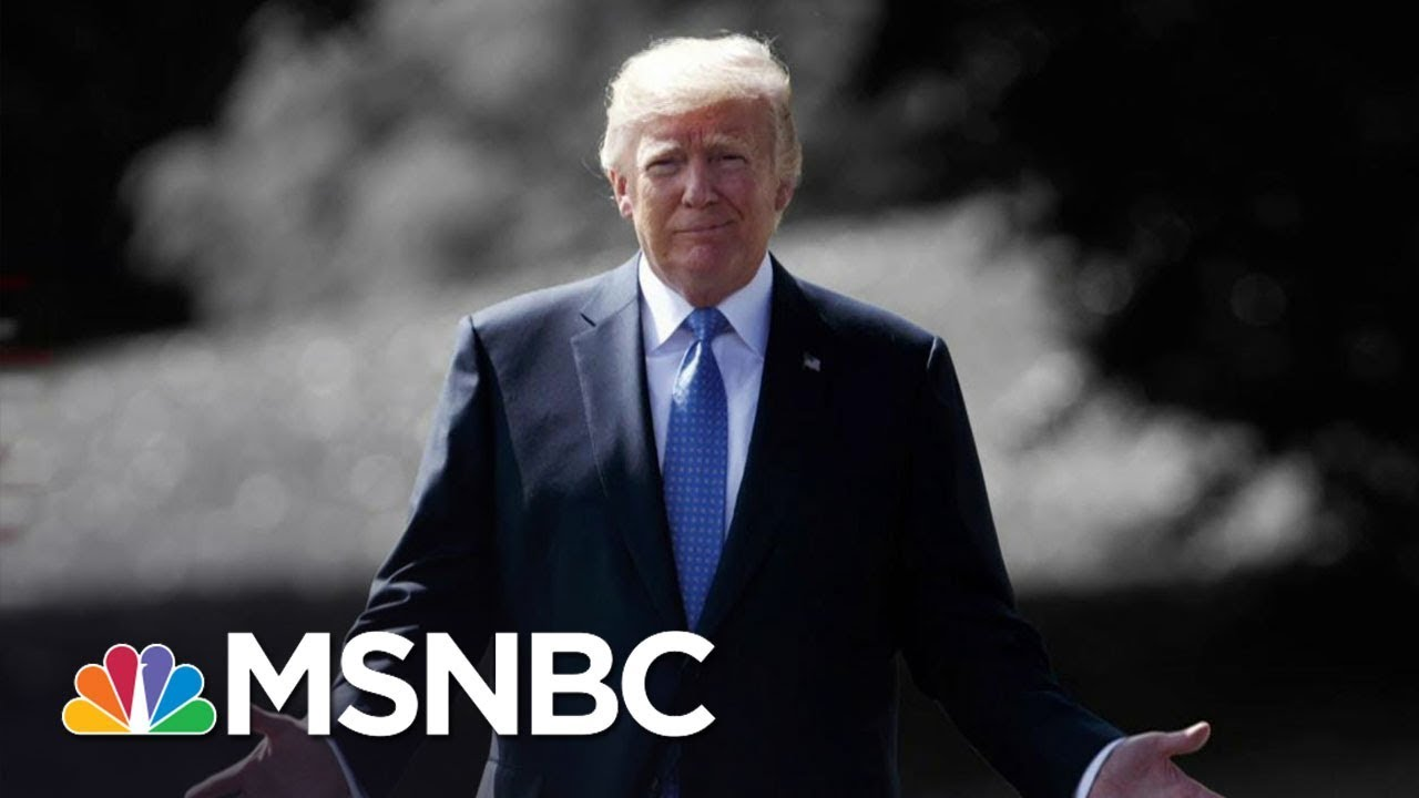Donald Trump Reportedly Physically Mocking John McCain & Mitch McConnell | The 11th Hour | MSNBC