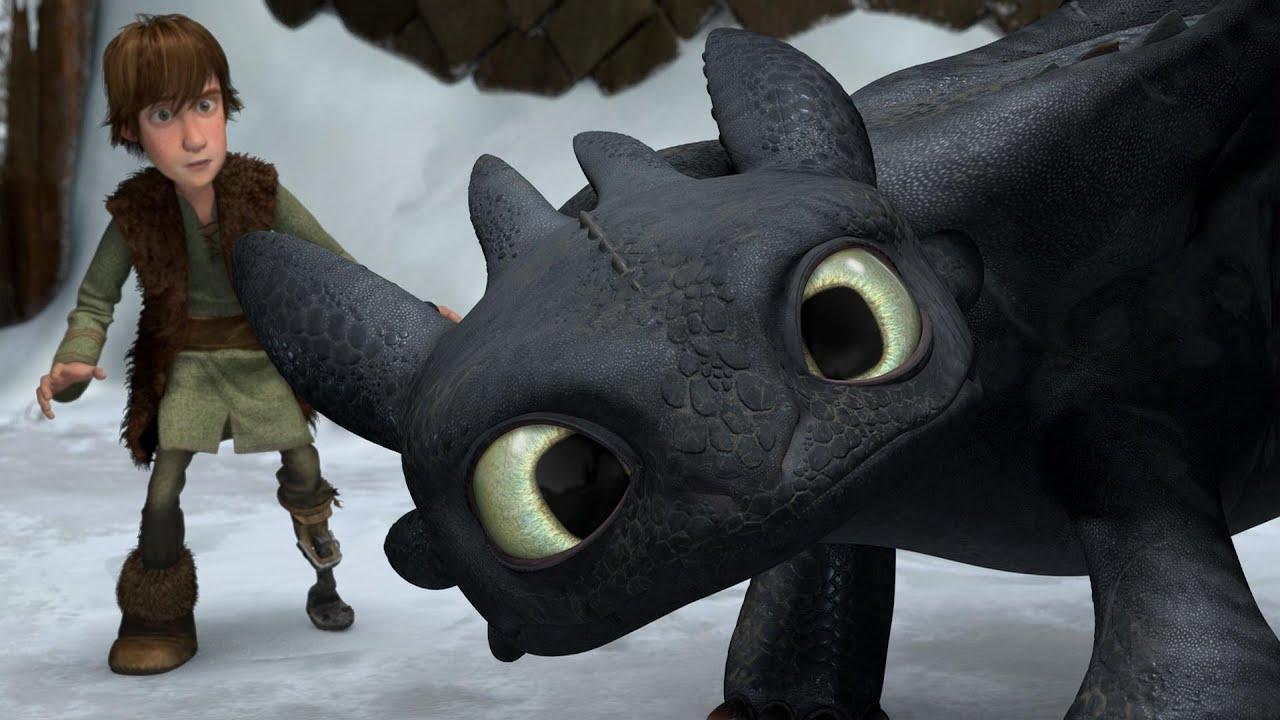 Смотреть как приручить дракона 13 фотография