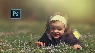 How to Edit Outdoor Portrait | ( Blur & Color Background ) | Photoshop Tutorial