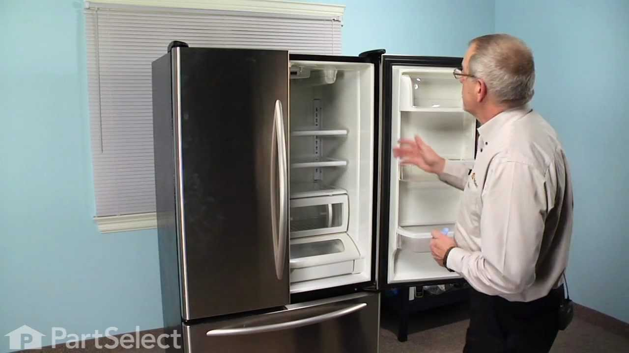 Refrigerator Repair Replacing The Water Filter Bypass Cap Whirlpool Part 12664501 YouTube