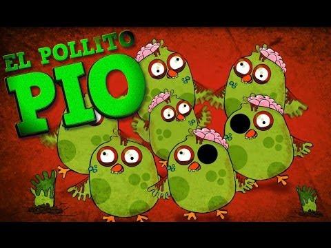 El Pollito Pio Zombie en Halloween