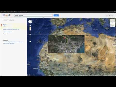 Village kabyle sur Google maps