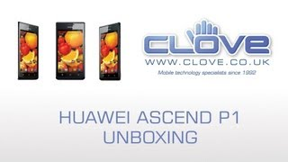 Huawei Ascend P1 Unboxing & Demonstration