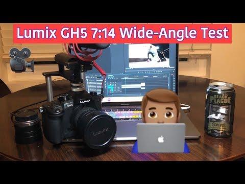 Pnasonic Lumix GH5 7:14 Wide Angle Lens Test