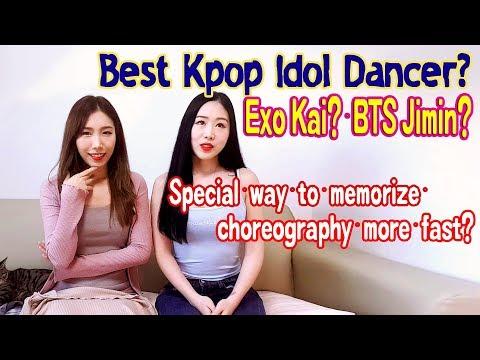 (ENG SUB)춤을 빨리 외우는 방법? 가장 춤 잘추는 아이돌? EXO Kai? BTS Jimin? V? Waveya Q&A