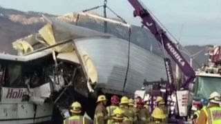 13 killed and 31 injured in tour bus crash