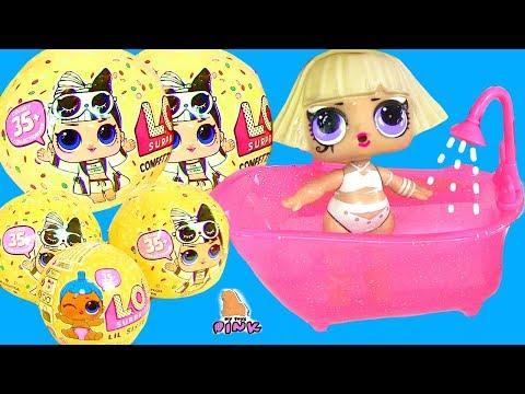 САЛОН КРАСОТЫ ДЛЯ КУКОЛ #ЛОЛ 3 СЕРИЯ 2 ВОЛНА LOL Baby Dolls  Играем в #Игрушки с My Toys Pink