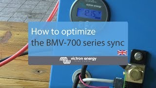 How to optimize the BMV-700 series sync parameters | Victron Energy