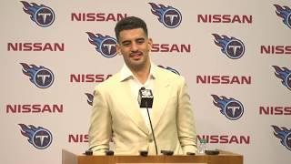 #Titans QB Marcus Mariota's Postgame Press Conference