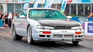 2JZ Nissan 240sx - GIRL Driven STREET CAR!