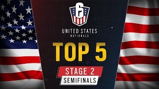Rainbow Six: US Nationals – Top 5 | Stage 2 Semifinals | Ubisoft [NA]