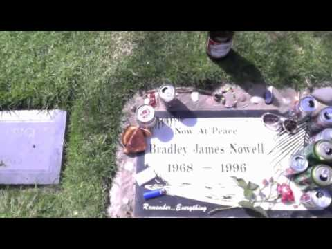 Paying Respects to Bradley James Nowell 5-25-2012