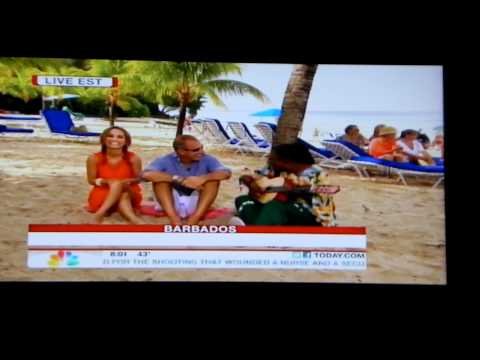 Matt Lauer: Today Show LIVE from Barbados Pt. 4