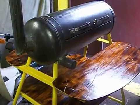 Как сделать мангал из газового баллона своими