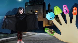 Hotel Transylvania 3 BLAH BLAH BLAH Finger Family Song for Toddlers with Happy Meal Toys!!!