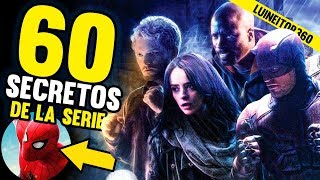 THE DEFENDERS - 60 Easter Eggs, Referencias, Personajes y Cameos de la Serie! Luineitor!!
