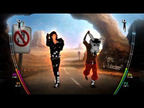 Michael Jackson The Experience - Wii - Speed Demon Gameplay Reveal [North America]