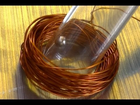 Physics experiment: magnetic motor with spherical neodymium magnet