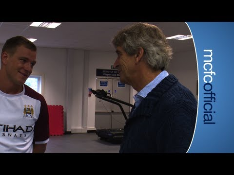 INSIDE CITY 78 - Pellegrini's first day