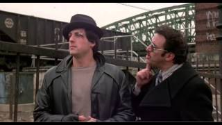Rocky (1976): Rocky meets up with Gazzo