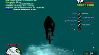 GTA SAMP - Bugs + WTF #1 - Bicicleta Voadora (Flying Bike)