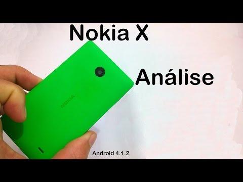 Nokia X Análise do Aparelho  (Review BRASIL)