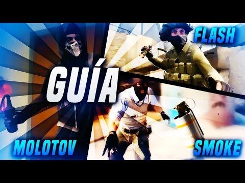 GUIA LANZAR HUMOS/MOLOTOV/FLASH EN DIFERENTES MAPAS - CS:GO | HDSuSo