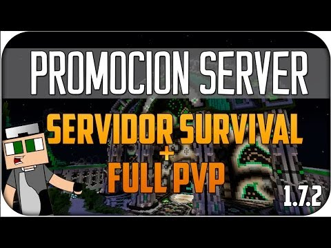 Minecraft Server Survival Factions PVP 1.7.4 No Premium Sin Lag 1.7 No Hamachi