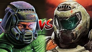The Doom Slayer vs Doomguy
